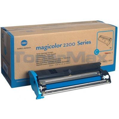 QMS MAGICOLOR 2200 TONER CYAN